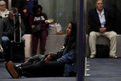 Caos en aeropuertos de EU por falla técnica