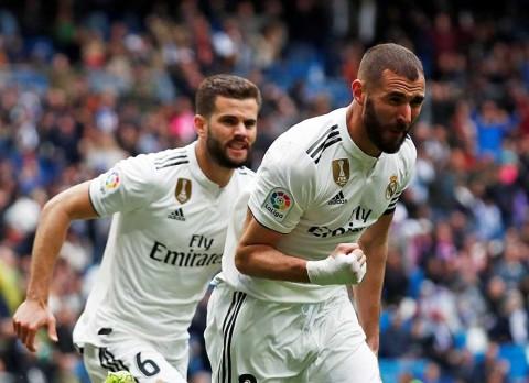 Real Madrid remonta al Eibar con doblete de Benzema