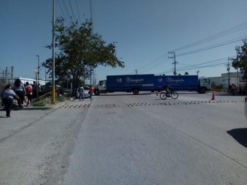Narcobloqueo en Reynosa