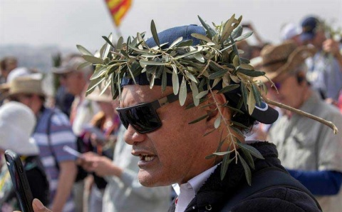 Así se vive el Domingo de Ramos en Tierra Santa