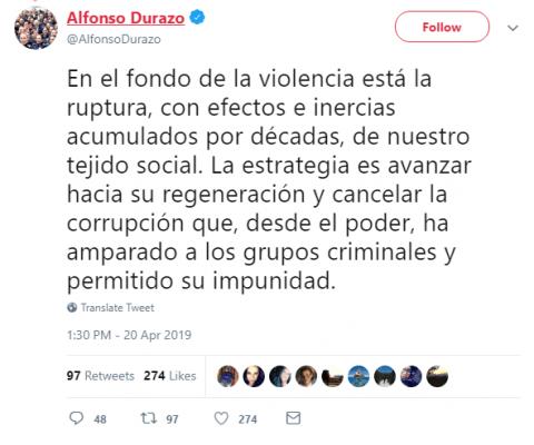 Estaría el CJNG tras masacre en Minatitlán