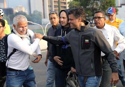 Guaidó activa una rebelión militar contra Nicolás Maduro
