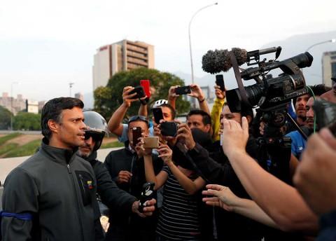 Así fue liberado el opositor Leopoldo López en Venezuela