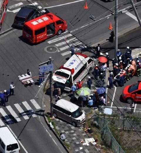 Atropellan a grupo de niños en Japón; al menos 2 muertos