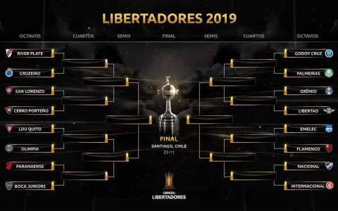Foto tomada de Twitter: @Libertadores