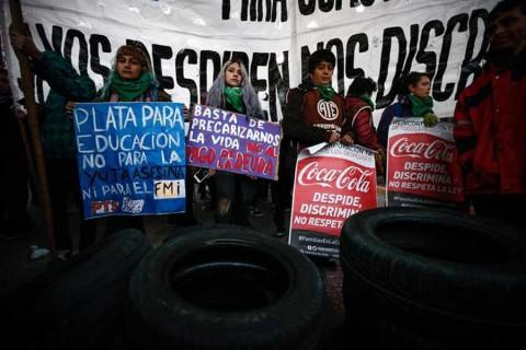 Argentina se paraliza por huelga general contra Macri