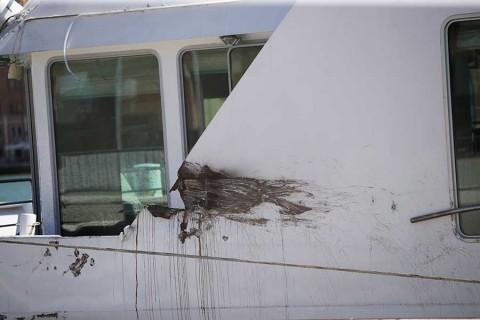 Pánico en Venecia por crucero fuera de control