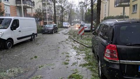Caen pelotas de granizo en Alemania, causando heridos y daños