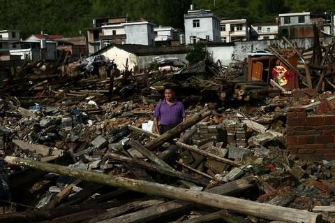 Al menos 49 muertos en China por lluvias