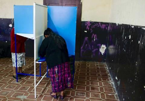 Inician elecciones presidenciales en Guatemala