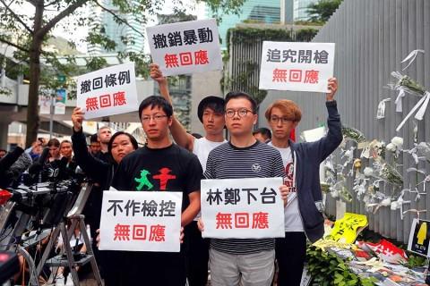 Sube tensión en Hong Kong; manifestantes rechazan disculpas