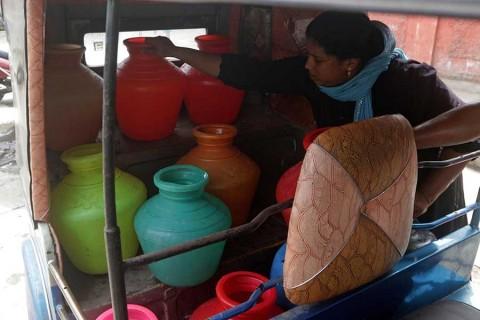 Sufre India aguda escasez de agua