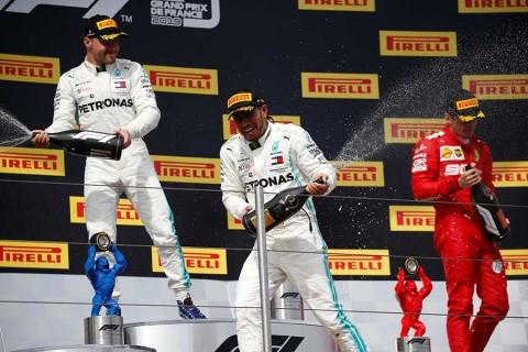 Hamilton conquista el GP de Francia