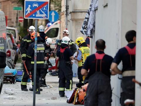 Explosión en Austria causa 2 heridos graves y daños