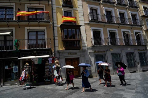 Al menos 5 muertos por ola de calor en Europa