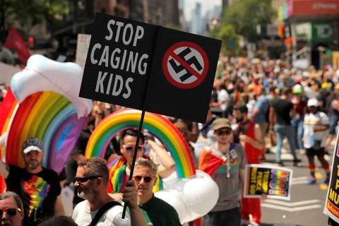 Nueva York celebra a lo grande la marcha del orgullo LGBT+