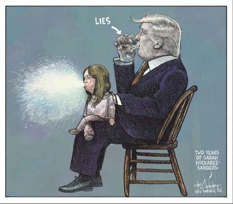 Despiden a caricaturista por burlarse de Trump y su postura migratoria