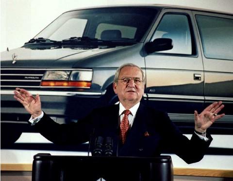 Muere Lee Iacocca, redentor de Chrysler