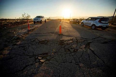 Así se sacudió California con sismo de 7.1, el mayor desde 1999