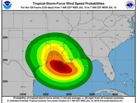 Luisiana se prepara para lluvias incesantes en próximos días