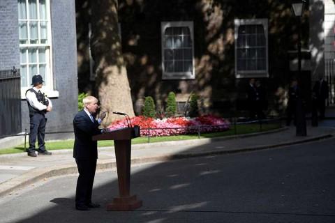 Boris Johnson promete un Brexit 'cueste lo que cueste'