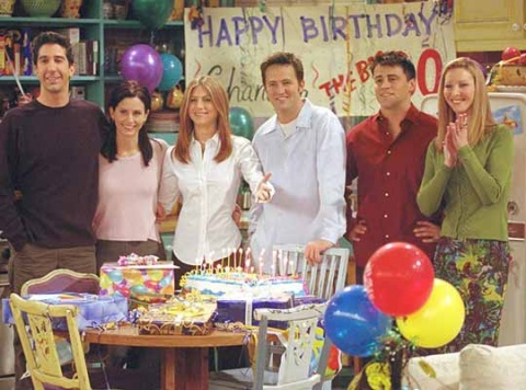 Ahora puedes ganar dinero por ver Friends durante 25 horas consecutivas