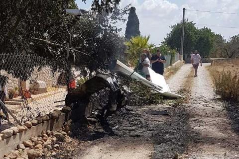 Suman 7 muertos por accidente aéreo en España