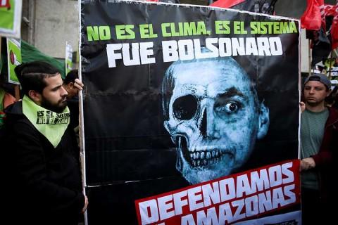 'Bolsonaro es elhombre más peligroso del mundo'