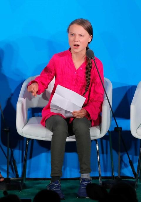 'No dejaremos que se salgan con la suya': Greta Thunberg tunde a líderes mundiales en la ONU