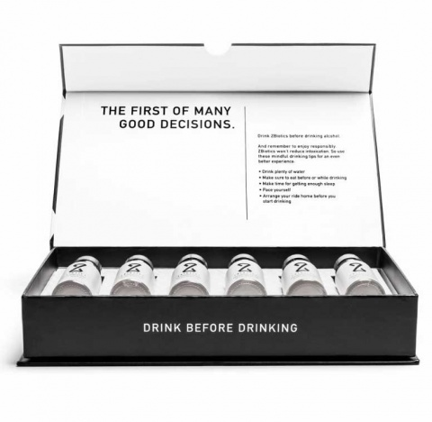 'Bebe como si hubiera mañana', presume un elixir anti cruda