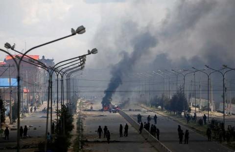 Represión en Bolivia es un genocidio: Evo