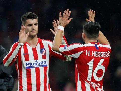 Héctor Herrera será titular con el Atlético de Madrid ante el Granada