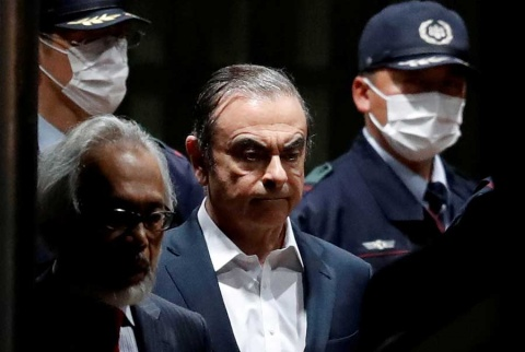 Carlos Ghosn, expresidente de Nissan, aparece en Líbano tras huir de Japón