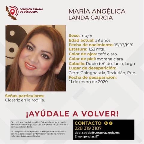 Ficha de busqueda de Angélica