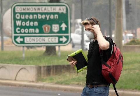 Evacuan partes de capital de Australia por nuevos incendios