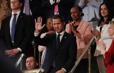 Trump recibirá hoy a Guaidó en la Casa Blanca