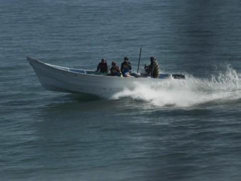 Pescadores furtivos