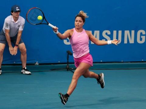 Renata Zarazúa se instaló en cuartos de final del Abierto Mexicano de Tenis 2020