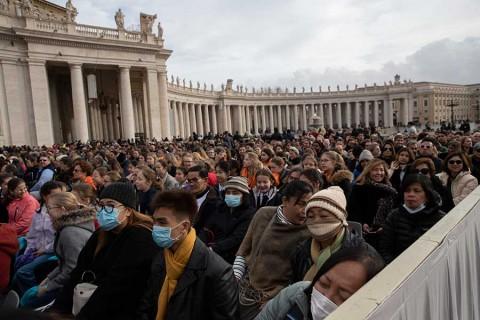 Modifican audiencias del Papa por coronavirus
