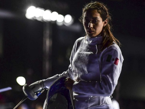 Mariana Arceo en su participación en los pasados Juegos Panamericanos Lima 2019