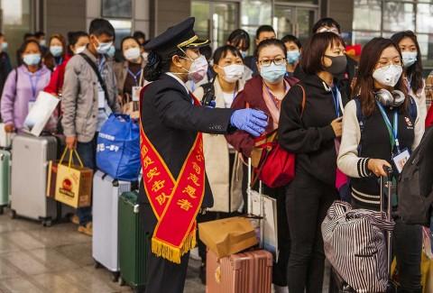 Día de fiesta en China por fin de cuarentena