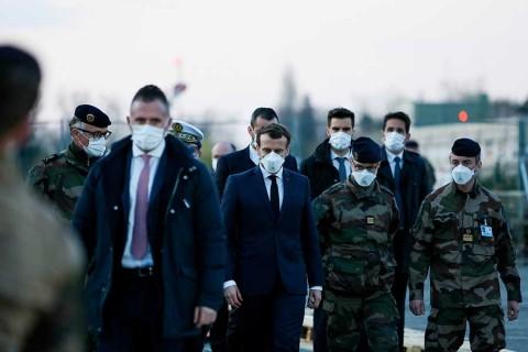 Más de 3 mil muertos en Francia por coronavirus