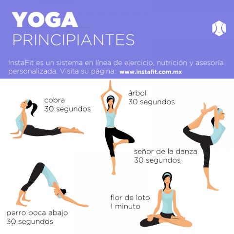 Posturas de yoga. (Foto: instafit.com.mx)