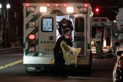 Más de 4 mil muertos en NY por coronavirus