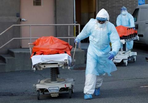 Viene la semana más dura y triste por coronavirus, advierten en EU