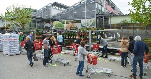 Alemania reabre comercios bajo gran cautela