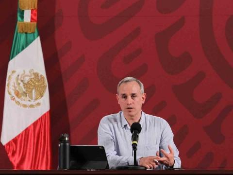 Hugo López-Gatell aplaudió la decisión de la Liga MX de cancelar el Clausura 2020. (Notimex)