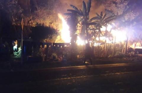 Incendio en casa de Querétaro