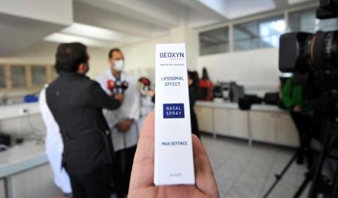 Genoxyn, el spray nasal que mata al covid-19 en ¡un minuto!