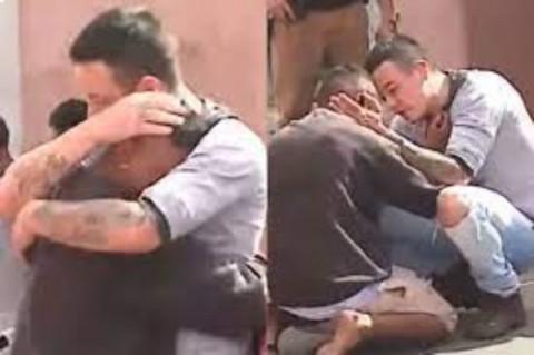 'Fue un accidente': Hombre abraza a conductor que atropelló a su hija